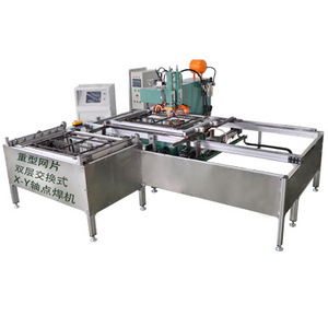 Dual-Layer Interchanging X-Y Axis Transport Spot Welder
